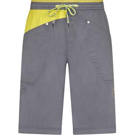 La Sportiva Bleauser Shorts Heren, grijs/geel